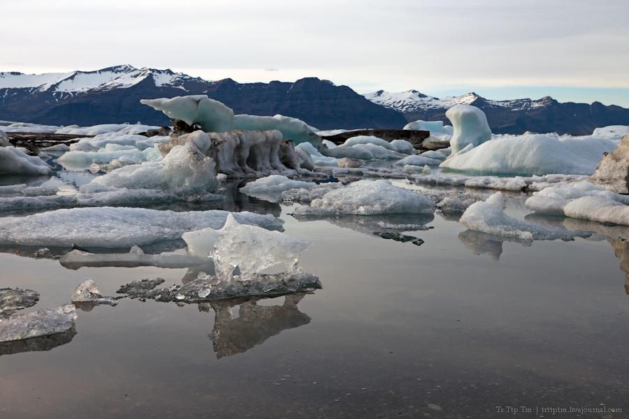6. Тихий вечер у Ледниковой лагуны.
