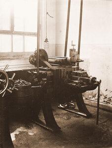 Вид стенда в одном из цехов мастерской.