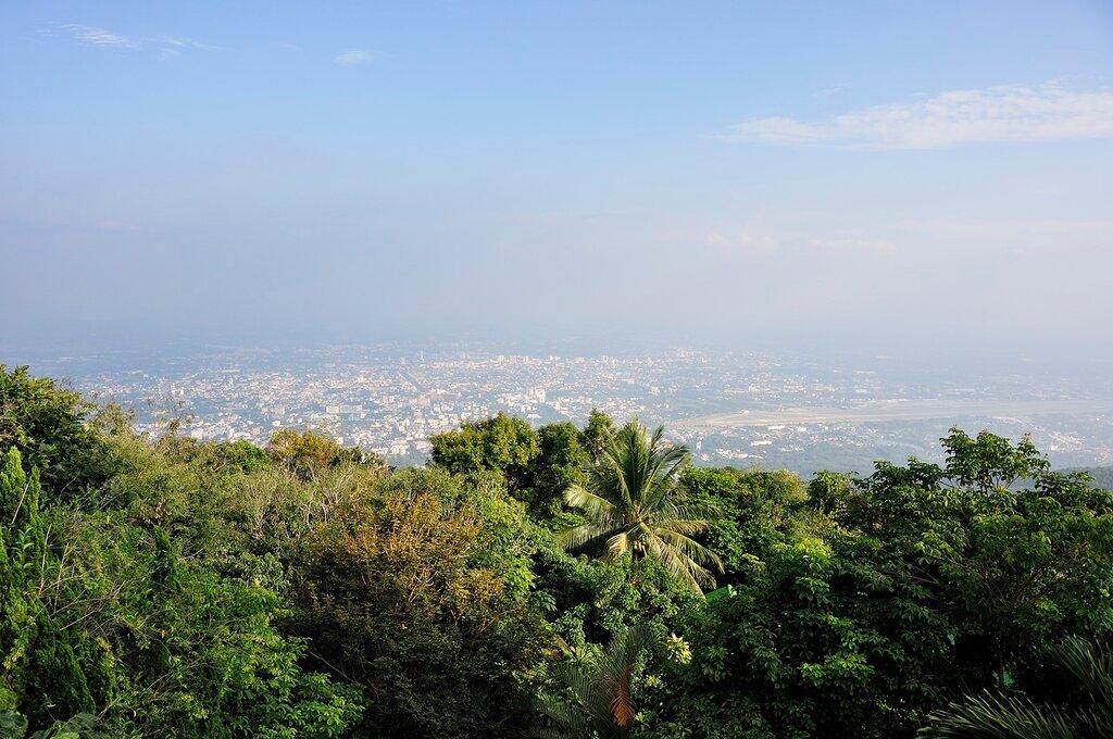 Вид на Чианг май