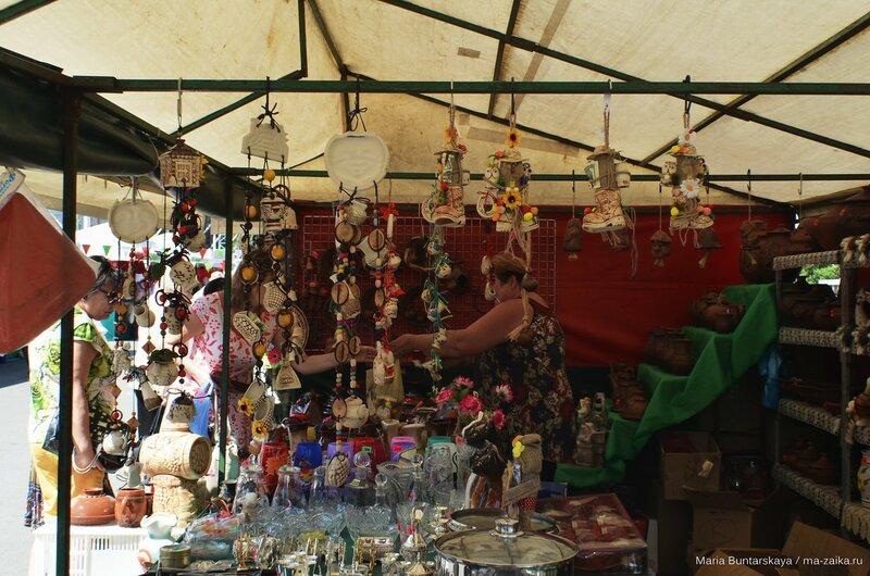Ярмарка белорусских товаров, Саратов, Театральная площадь, 04 августа 2015 года