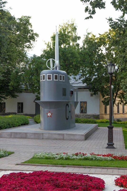 Рубка подводной лодки С-13, Нижегородский кремль