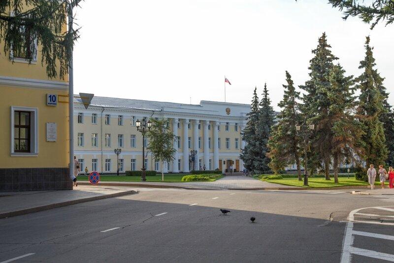 Правительственные здания, Нижегородский кремль