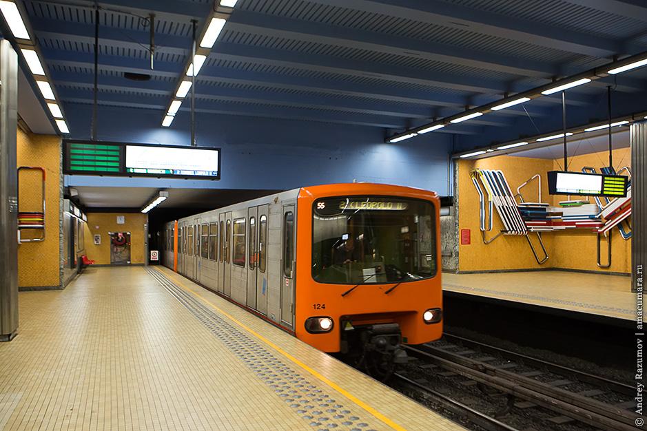 метро в Брюсселе