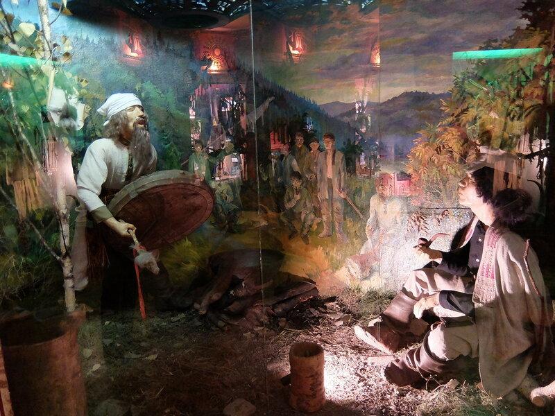 Таштагол - Музей - Шаман
