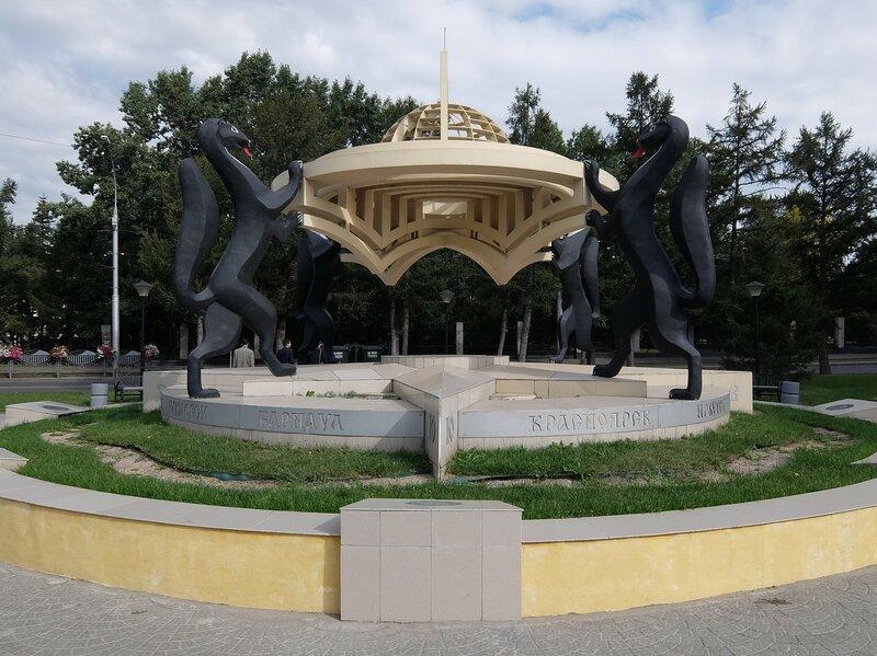 Новосибирск - Композиция Сибирские просторы