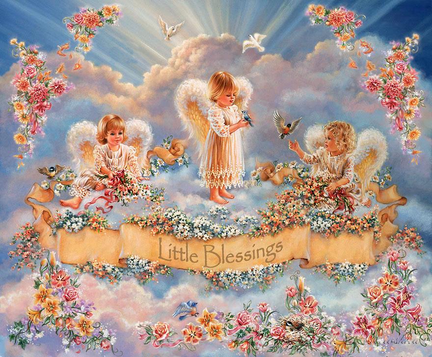 Ждут ангелы у рая фото