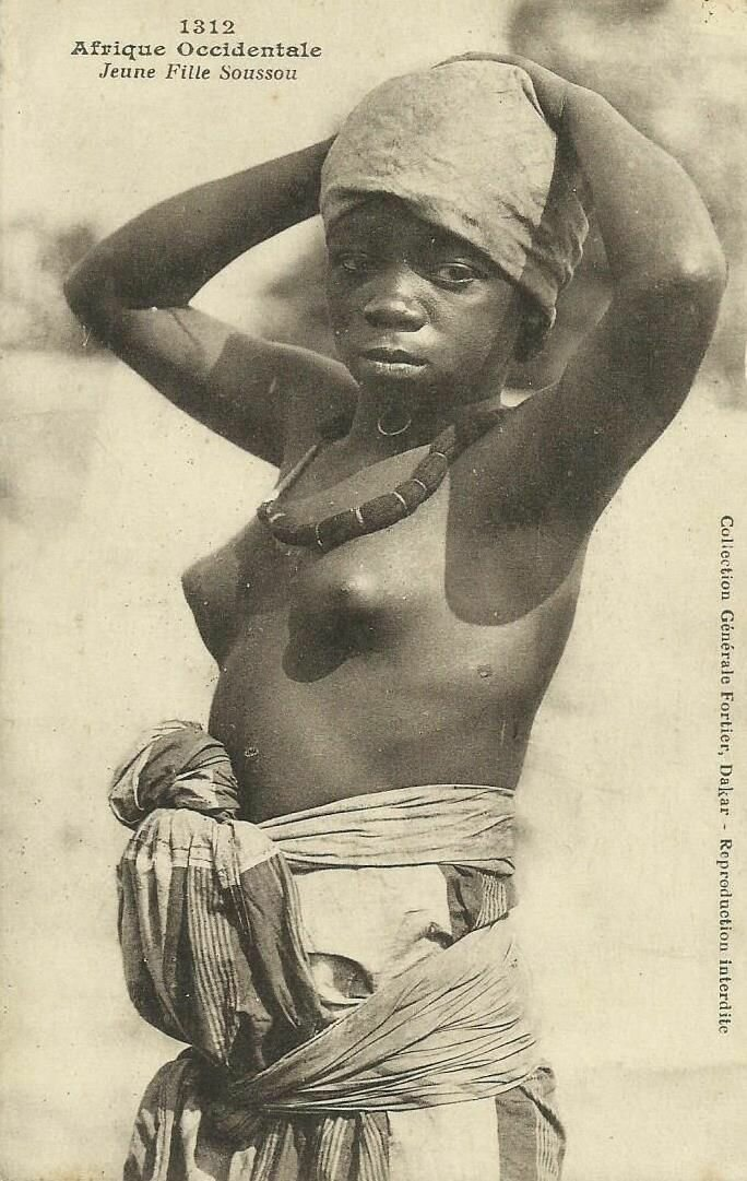 1312. Девушка народа сусу