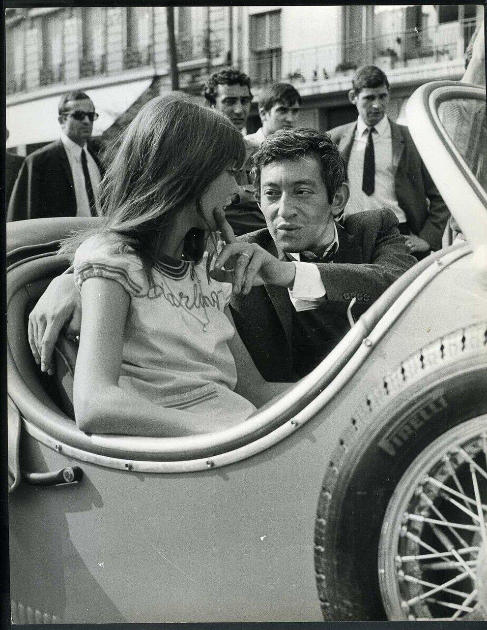 1970. Серж Генсбур и Джейн Биркин