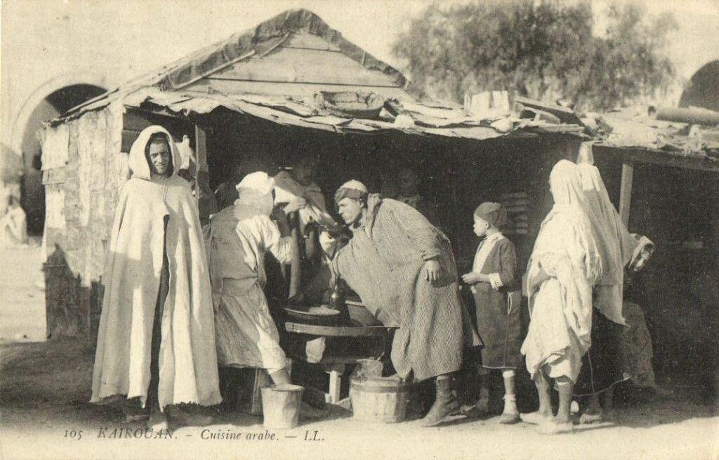 Кайруан. Арабская кухня