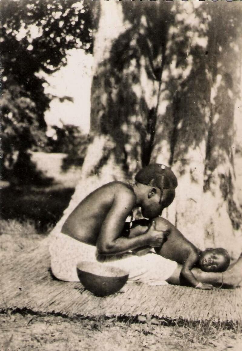 Буркина Фасо. Мать с ребенком