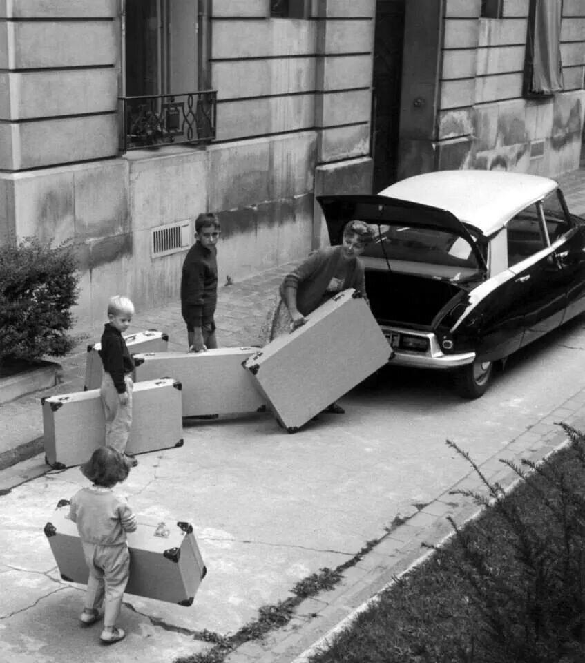 1959. Уезжаем в отпуск