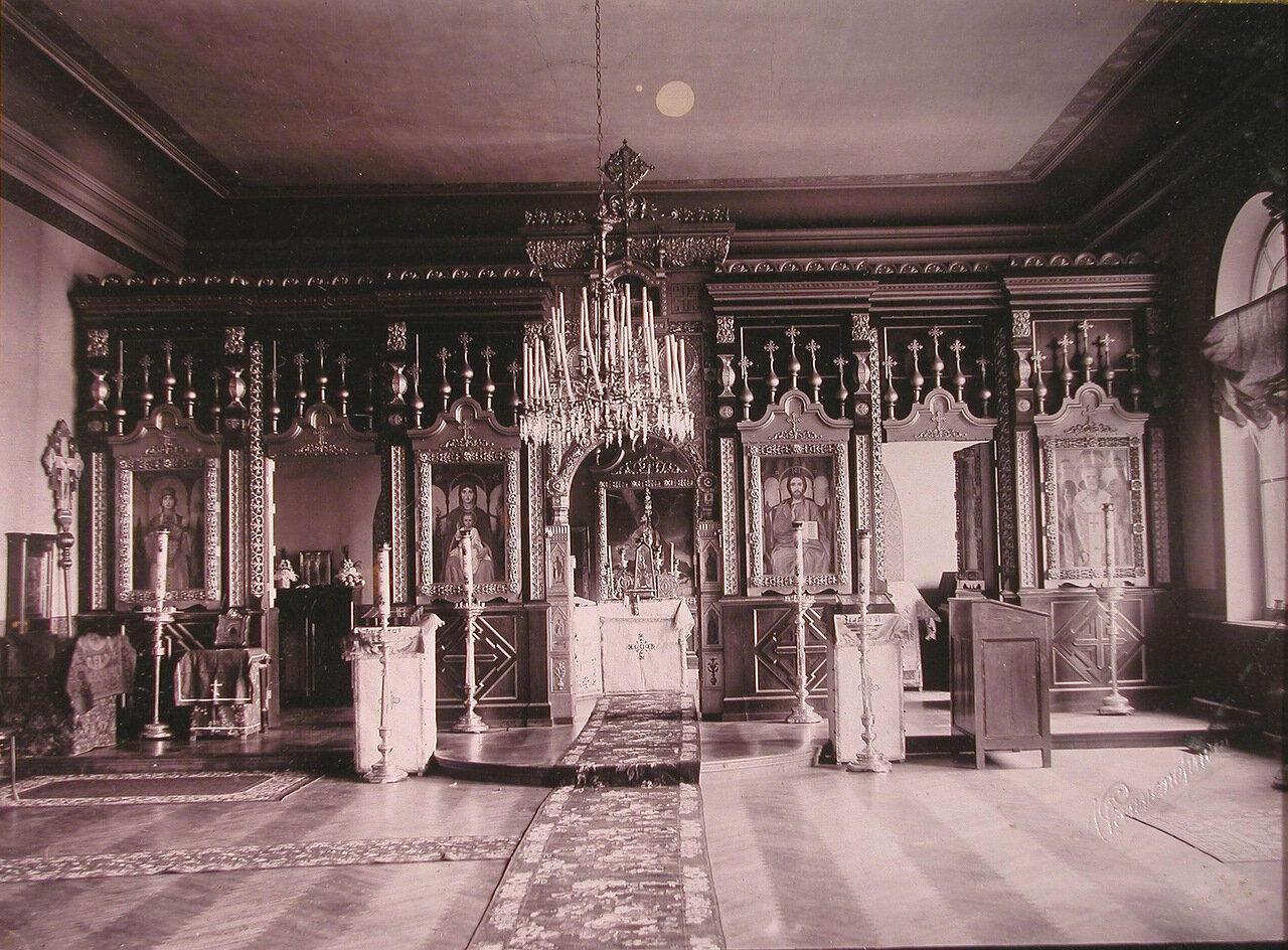 03. Вид алтаря церкви Николаевского детского приюта