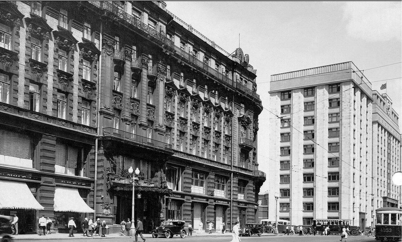 1930-е. Моисеевская площадь