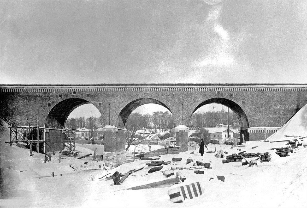 1920-е. Ж.д мост через Яузу