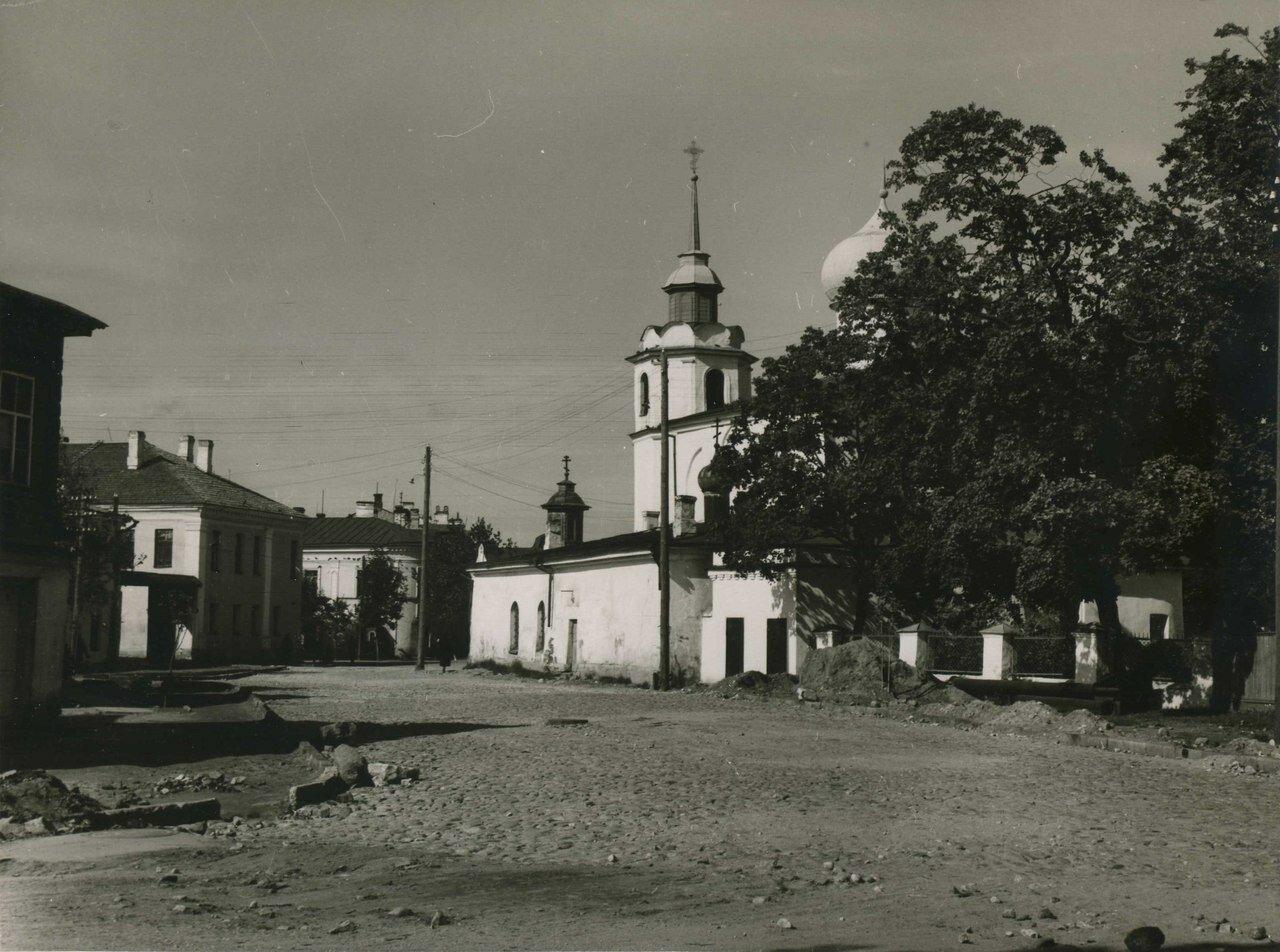 1930-е. Храм Покрова от Торга