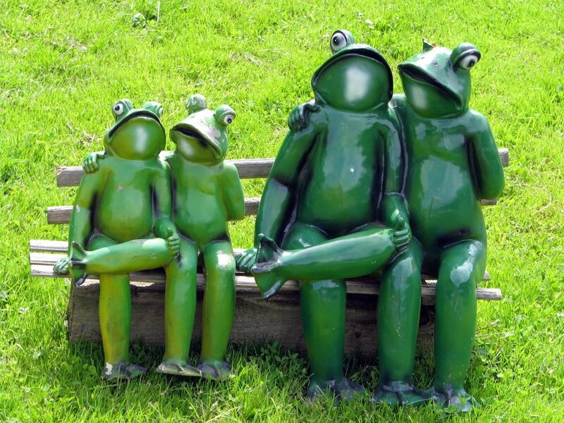 Зеленые на отдыхе