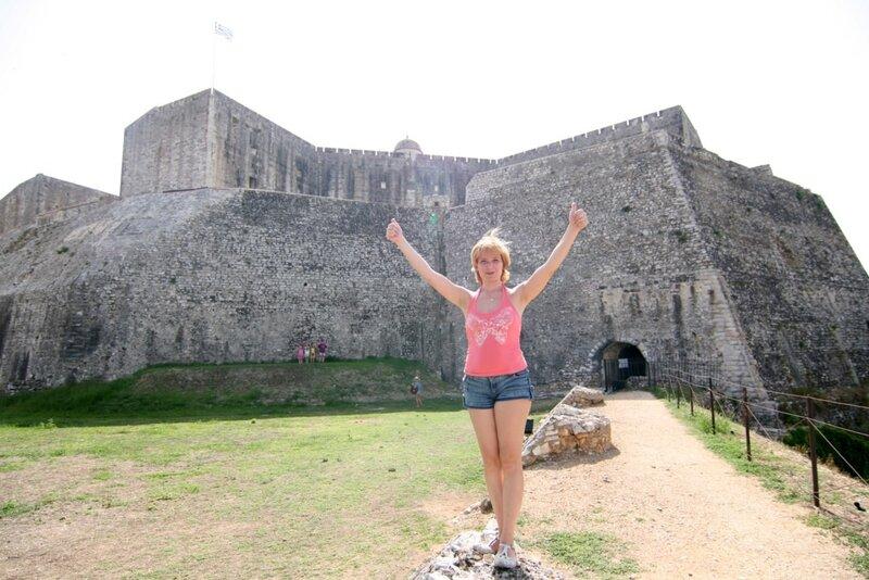 Керкира, Новая крепость
