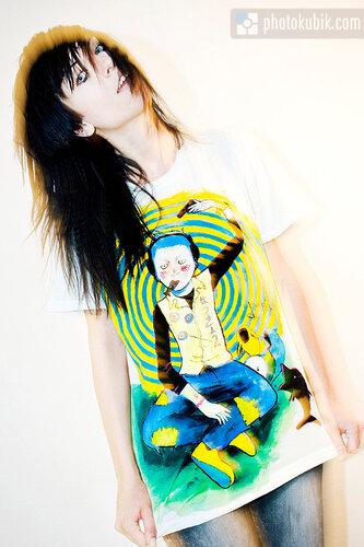 фотомодель мода дизайнеры дизайнер fashion story fashion  Интервью с Татьяной Зацерковной, фотосессия в хэнд мейд футболках.