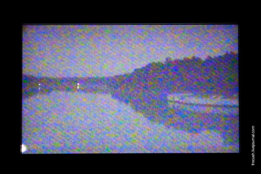 Вид с носовой камеры теплохода «Василий Чапаев»