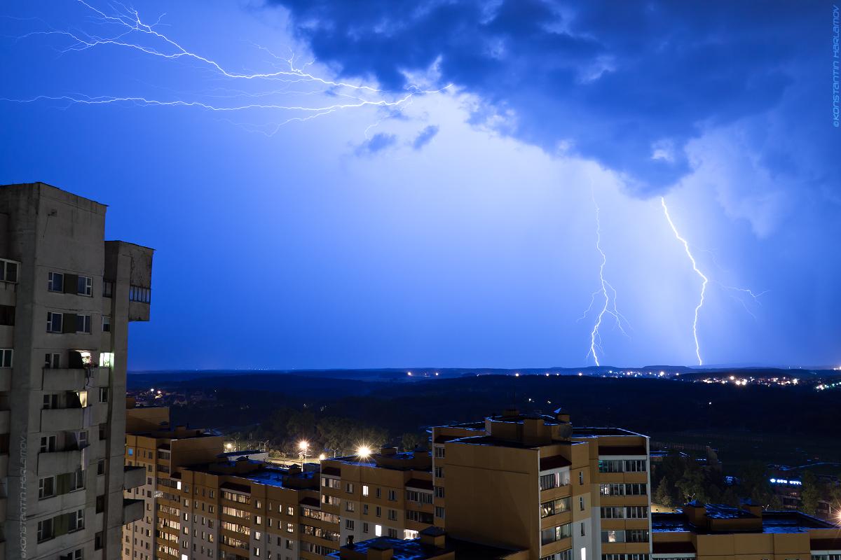 гроза, молнии, дождь, ливень. thunderstorm, lightings, rain, minsk