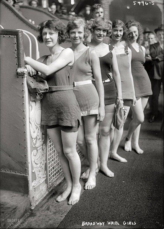 артистки ,Нью-Йорк, 1921