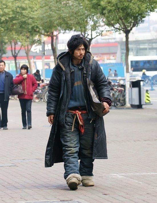 Китайский бродяга  Чен Гу Джон стал секс-символом