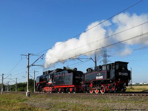 паровозы СО17-3241 и 9П-19499 _370