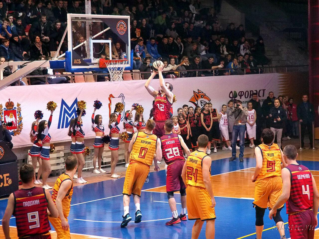 109 Матч звезд АСБ 2018 (ассоциации студенческого баскетбола)