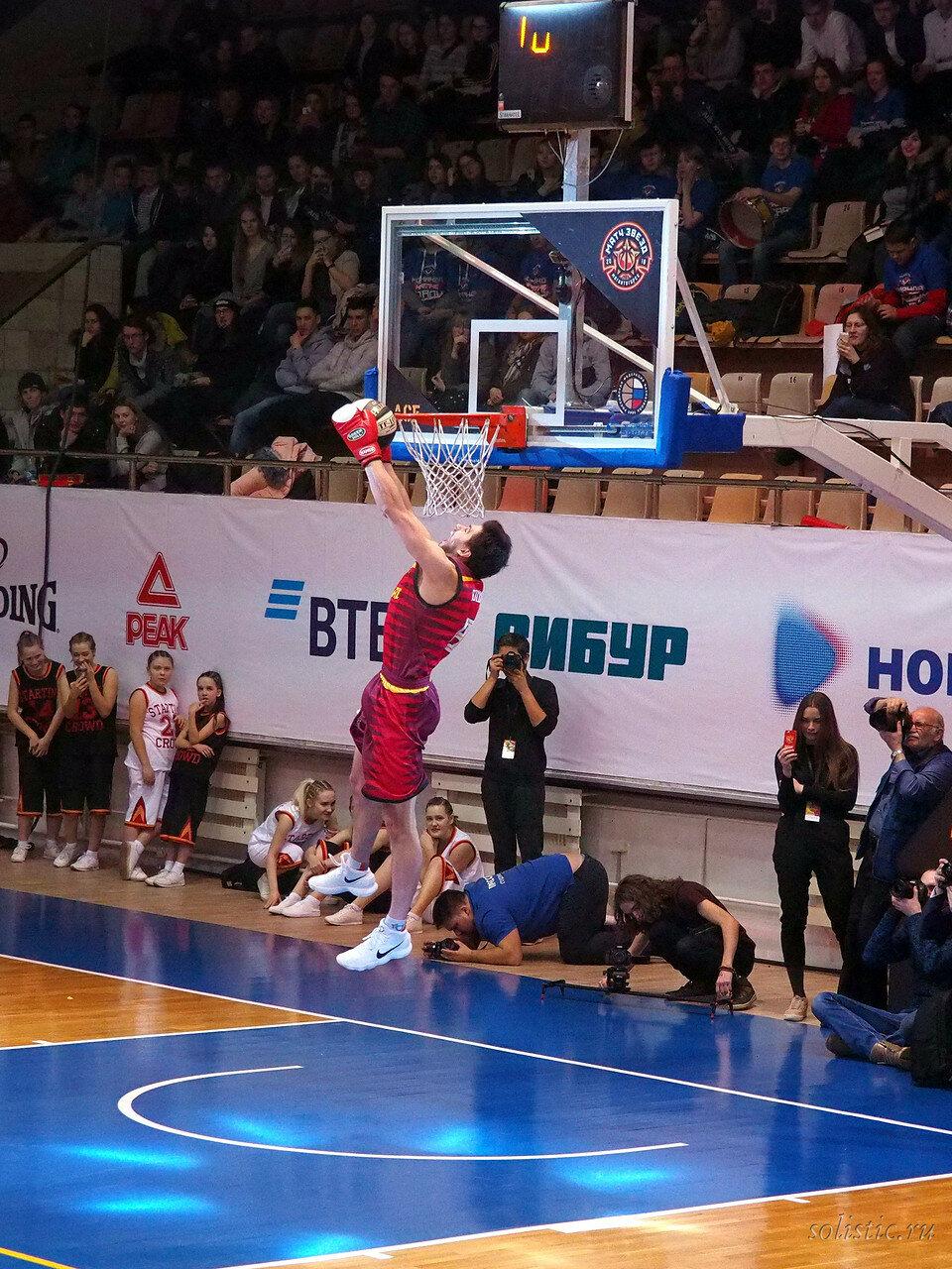 121 Матч звезд АСБ 2018 (ассоциации студенческого баскетбола)