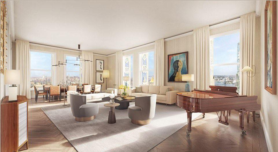 Самый дорогой пентхаус в Нью-Йорке продают за $110 000 000