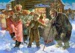 Ряженые на Рождество_Владимир Чумаков.jpg