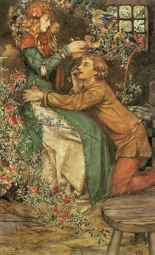 Eleanor Fortescue-Brickdale Магия природы