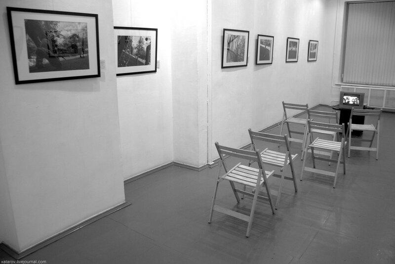 Ночь кино в галерее А3. Выставка Залмана Шкляра. 26 августа 2017 года