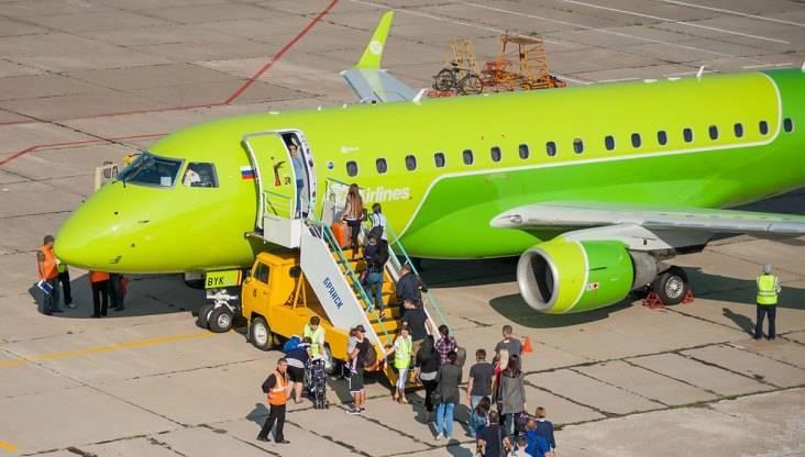 На первый авиарейс до Москвы вБрянске продали 27 билетов