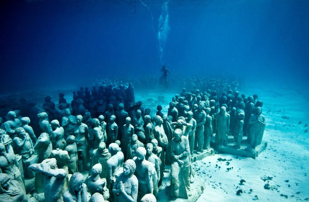 Национальный Водный Парк Канкуна. Его посещают более чем 750 000 человек каждый год. (Фото ko