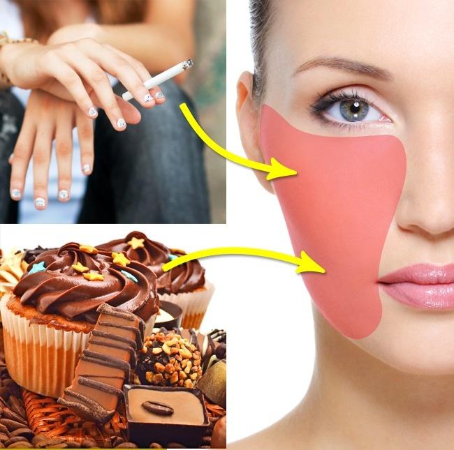 Губы  Дерматологические проблемы области вокруг рта могут подавать нам сигнал о проб