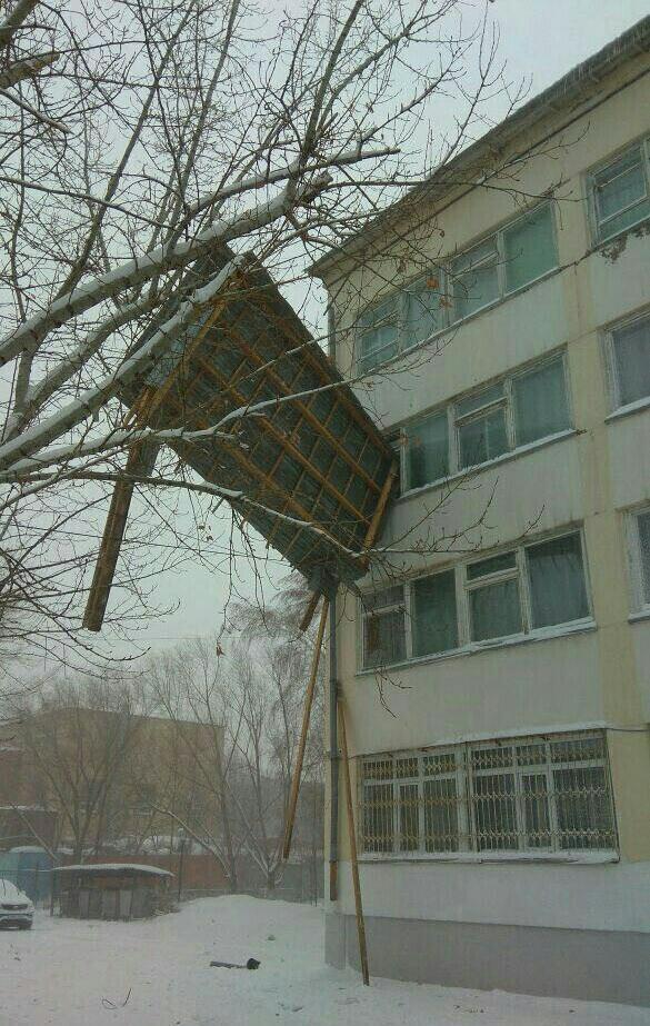 Зимний Армагеддон в Астане (10 фото)