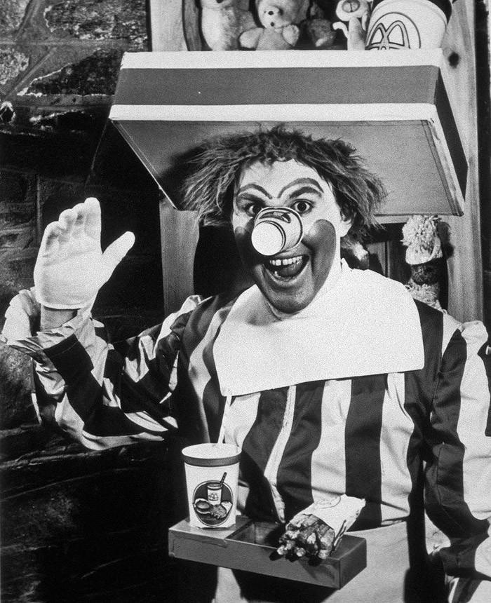 13. Первый Рональд Макдональд, 1963 год.