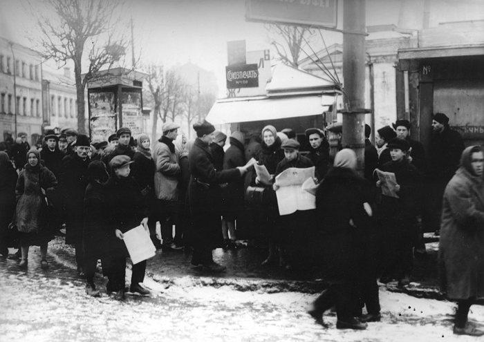Киоск «Союзпечати № 120». СССР, Москва, Цветной бульвар, 1920-е годы.   9. Рождественски