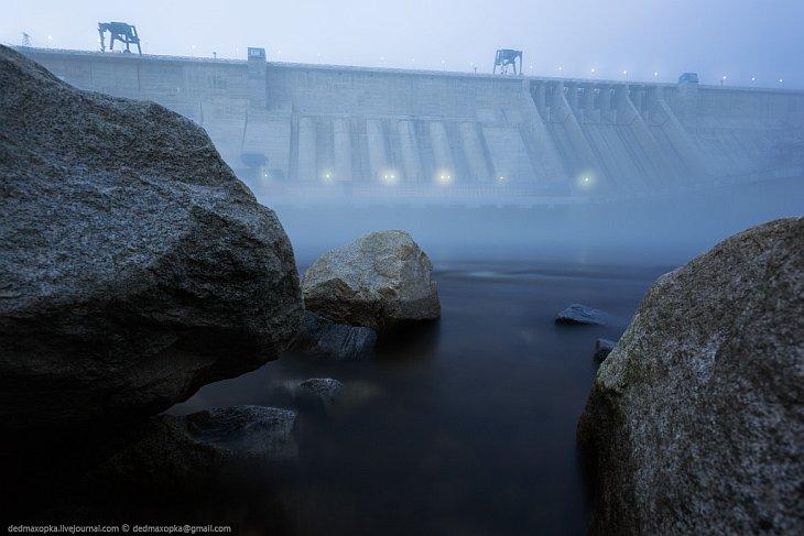 Самая большая ГЭС на Дальнем Востоке (26 фото)