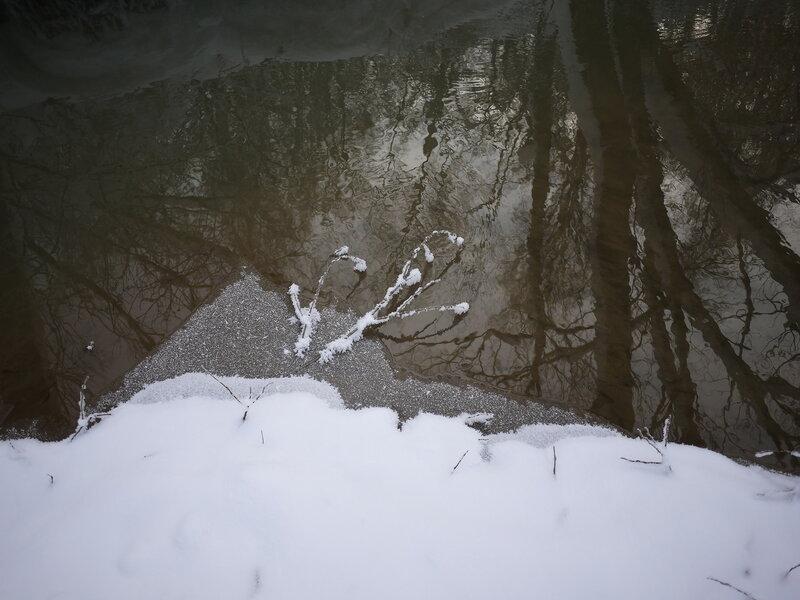 А в Сосенках зима ...