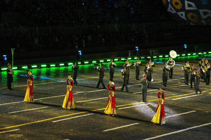 Образцово-показательный оркестр Министерства обороны Узбекистана