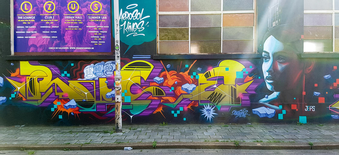 Street Art Trip in Belgium – Part 2 : Discovering street art in Antwerp