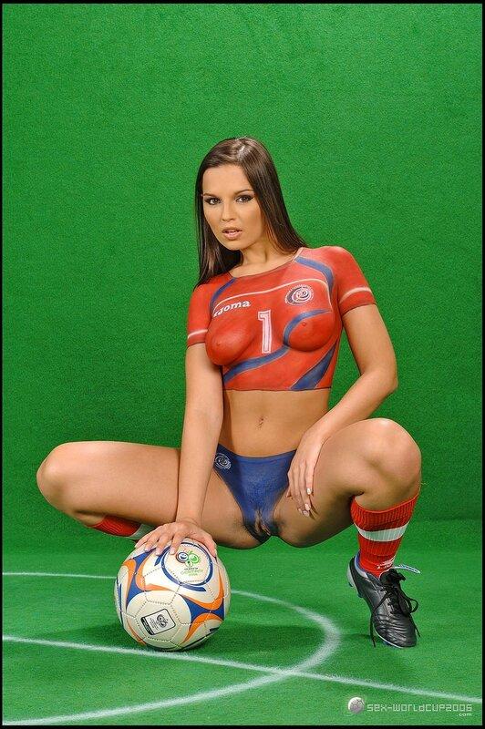 Football Brazil Uniform Bodypaint Fakingstv 1
