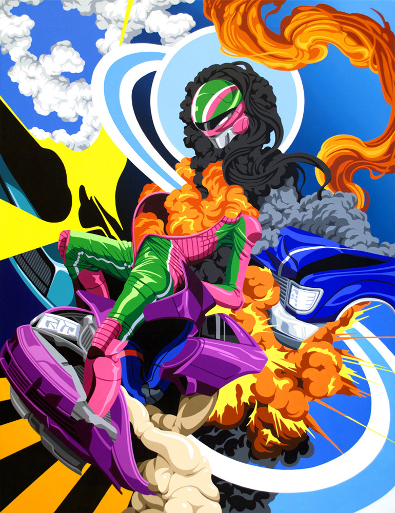 The Vibrant & Colorful Works of James Roper