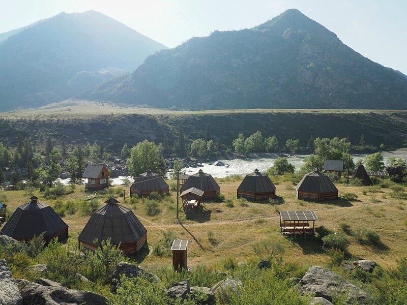 """Алтай, туркомплекс """"Кур-Кечу"""" (Altai, tourist complex """"Kur-Kechu"""")"""