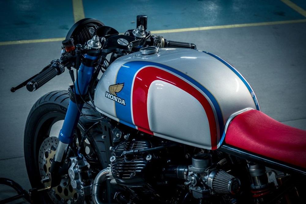 NCT Motorcycles: кафе рейсер Honda CX500