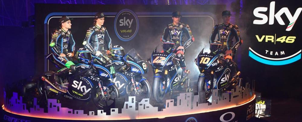 5 лет команде Sky Racing VR46