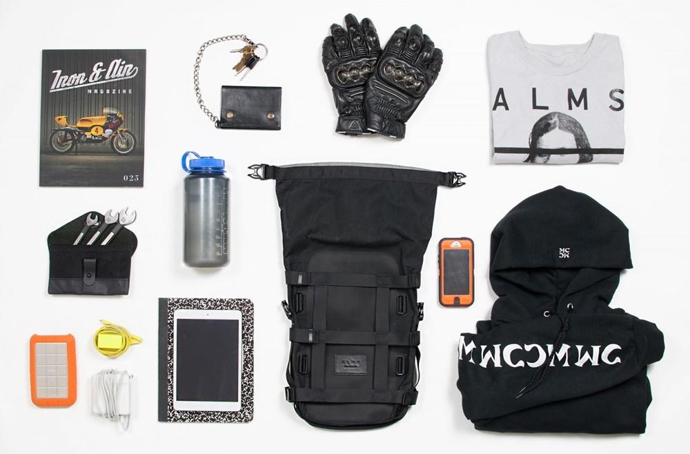 ALMS NYC - 12-литровая сумка на хвост мотоцикла