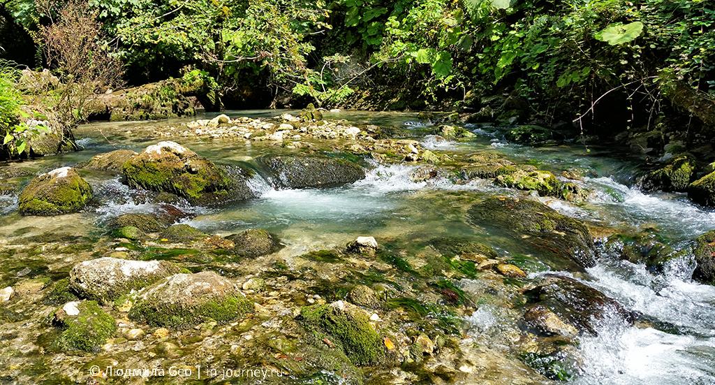 горная река Псырцха